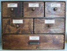 DIY Apothecary Box. Apothecary CabinetIkea ...