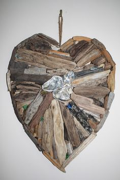 Kentish driftwood come to some of the fairs I organise and will be at the next  16th June 10-4 St Georges Hall Deal-Kentish Shell Driftwood Heart