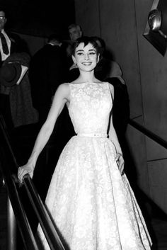Audrey Hepburn's givenchy dress at the oscars 1953 when she won best actress for the film Roman Holiday