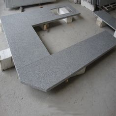 Newstar supply grey stone G603 granite countertop China factory