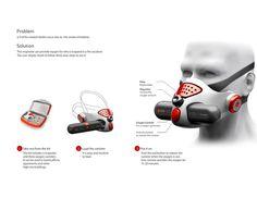 Fire Relief Respirator on Behance