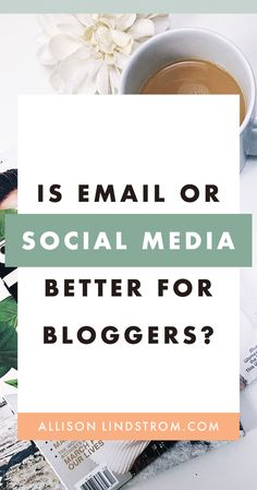 Which is more important for bloggers, email or social media? What if you don't fall under the social media or email marketing niches? In this case, I recommend you take a look at these factors. #email #emailmarketing #socialmedia #blogging #blogtips #bloggingtips #howtoblog #workfromhome #workathome #blogger #wahm #makemoneyblogging Make Money Blogging, Make Money Online, How To Make Money, Email Marketing, Social Media Marketing, Marketing Strategies, Content Marketing, Business Tips, Online Business