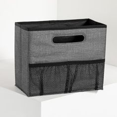 Fold N' File - Charcoal Crosshatch Organizing Utility Tote, Hanging File Folders, Mobile Office, Hanging Files, Tote Storage, Thirty One Gifts, Staying Organized, Inspired Homes, Home Organization
