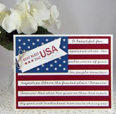 America the Beautiful! - For details and product used, please visit my blog.
