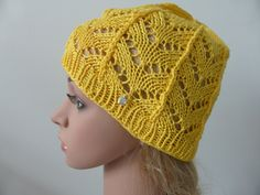 Items similar to Woman's knit summer hat bright yellow ladies sun hat beanie beach boho natural fibers cotton on Etsy Knitted Hats, Crochet Hats, Summer Hats, Bright Yellow, Sun Hats, Knitting, Trending Outfits, Unique Jewelry, Handmade Gifts