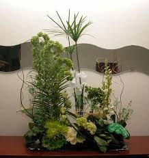 Vegetative Design- Long at top shorter at base