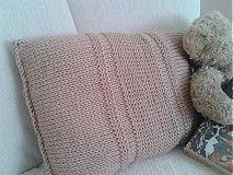 Úžitkový textil - V jednoduchosti je krása - vankúš - 3971536_