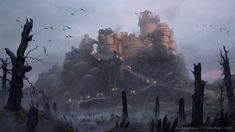 """Glott's Hop"" by Simon Kopp (acapulc0) | Ryse : Son of Rome | #Fantasy #Videogames #Town"