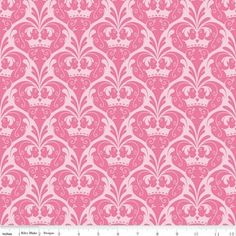 Sandra Workman Designs - Dream and a Wish - Damask in Pink