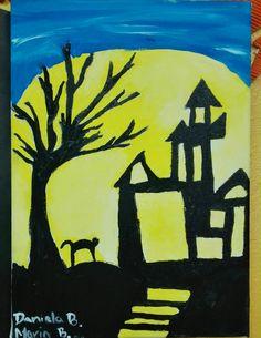 Esta pintura en Elevación esta inspirada en Halloween. #americasbicultural #cademyrd #cademy www.cademyrd.com