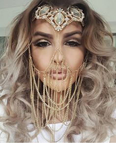 Beautiful Arabian headpiece.