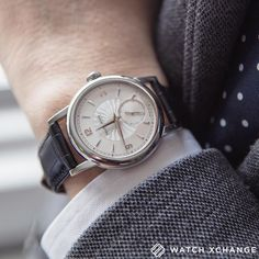 A 37 mm Dufour Simplicity in platinum. That's it.