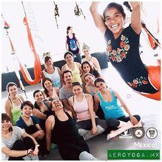 (www.aeroyoga.mx) Quieres ser profesor de #AeroYoga ? Súmate al International TeacherTraining  en #MEXICODF Del 7 al 14 Agosto 2016. Ultimas plazas!. (En esta foto con nuestros queridos estudiantes Pasada Formación Profesores #Cancun .Gracias  a todos por participar!). CERTIFICACION PROFESORES #MEXICO DF 7 al 14 Agosto. Prepárate con el curso de AeroYoga©® y #AeroPilates ©® del Aeroyoga Institute con #RafaelMartinez introductor del #YogaAereo  y el #PilatesAereo  en Europa  y #LatinoAmerica…
