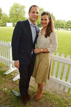 Lord Frederik and Lady Sofie Windsor