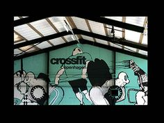 Design for Crossfit center made in collaboration with Laura Rathschau