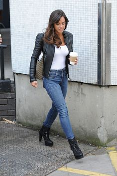 English actress and model Georgia May Foote was spotted outside ITV Studios in London on May, The looked casual and cool… Georgia May Foote, Peach Lipstick, Photo Stock Images, English Actresses, Lace Up Booties, Skin Tight, Woman Crush, Casual Looks, Womens Fashion