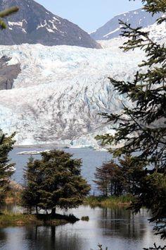 Mendenhall Glacier, Juneau, Alaska - visiting here with my mom and daughter will always be a most treasured memory. Juneau Alaska, Alaska Travel, Alaska Trip, Alaska The Last Frontier, North To Alaska, Destinations, Alaskan Cruise, Living In Alaska, Best Vacations
