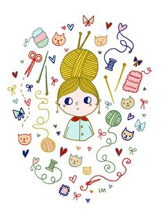 Miss knitting