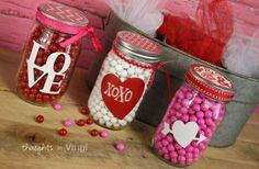 Valentine's Day Mason Jar Decals - BOGO FREE! 75% off at Groopdealz