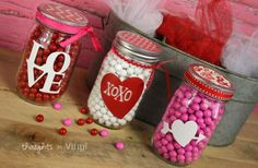 Valentine's Day Mason Jar Decals - BOGO FREE! 75% off at Groopdealz
