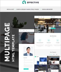 Responsive Software Landing Page HTML Website Template