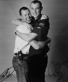 Colin Mcrae and Richard Burns: Friends and battling competitors.