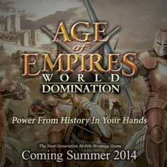 Microsoft announces Age of Empires World Domination for mobile -  We've known since last summer that Microsoft was looking to bring its Age of Empires series to mobile, but earlier this week we were given an official announcement and title. The