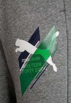 Puma FUN - Jogginghose - medium gray heather - Zalando.de