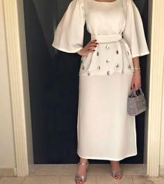 Ideas Style Hijab Outfit Modest Fashion For 2019 Arab Fashion, Islamic Fashion, Muslim Fashion, Trendy Fashion, Trendy Style, Style Fashion, Mode Abaya, Mode Hijab, Modest Wear