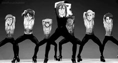my gif husbando snk shingeki no kyojin attack on titan snkgif erwin smith Armin, Mikasa, Levi X Eren, Madonna, Fanfiction, Aot Funny, Hilarious, Men In Heels, High Heels