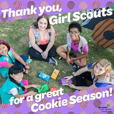 We're sad to the see them go…but can't wait to hear about all the amazing adventures girls go on with their cookie proceeds! Congratulations to all our girls!