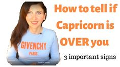 How to Tell if Capricorn is OVER you Relationship Astrology, Capricorn Man, I Want You, To Tell, Things To Come, Guys, Sons, Boys