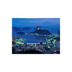 Sugar Loaf Mountain, Rio de Janeiro, Brazil Photographic Wall Art... ($35) ❤ liked on Polyvore featuring home, home decor, wall art, pictures, brazil, rio de janeiro, south america, south american nations, subjects and travel