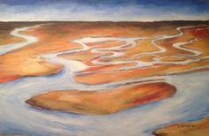 Joy of the Redeemed Isaiah 35 Prophetic Art by Dana Jensen Acrylic on Canvas