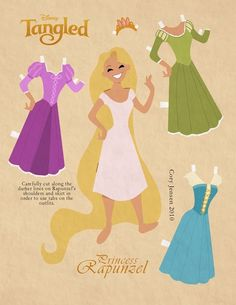 Tons of amazing free printable paper dolls!