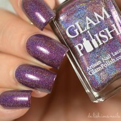 Glam Polish - Ding Dong, You're Dead. (Halloween Horror Shop LE)