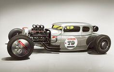 The Milton Motors 79 Coupe by Lugnegård Design