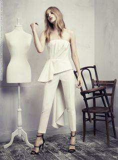 Dorothea Barth Jorgensen for H&M Conscious Exclusive Collection (Summer 2013) photo shoot