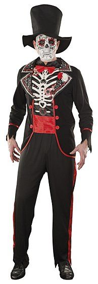 Halloween Day of the Dead Skeleton Costume, read reviews and buy online at George. Shop from our latest range in Fancy Dress. You're sure to be the best dressed...
