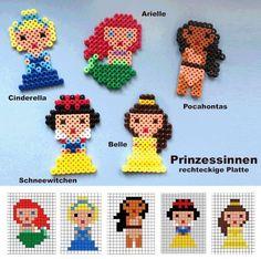 Disney Princess hama beads
