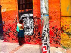 Eje Ambiental  vía @German Sarmiento Street Art, Painting, Painting Art, Paintings, Painted Canvas, Drawings