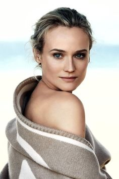 Diane Kruger's New Chanel Beauty Campaign 2013 (Vogue.com UK)