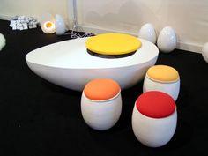 muebles con motivos de huevos - Buscar con Google