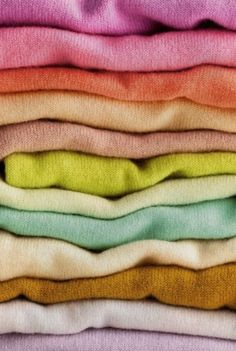 Favorite fabric: Cashmere- nothing feels as cozy as a good quality cashere pullover.