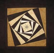Bildergebnis für patchwork log cabin