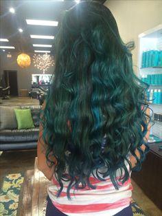 Joico turquoise balayage  hair