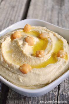 homemade humus