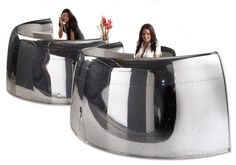 made from airplane parts | ... made from Old airplane parts Awesome furniture made from Old airplane