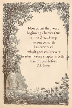 @Hannah Mestel Mestel Helm - Beautiful Quote for a Wedding program by C S Lewis Thank you @Karen Jacot McKeever !! :)