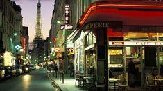 paris street scene - Desktop Wallpaper